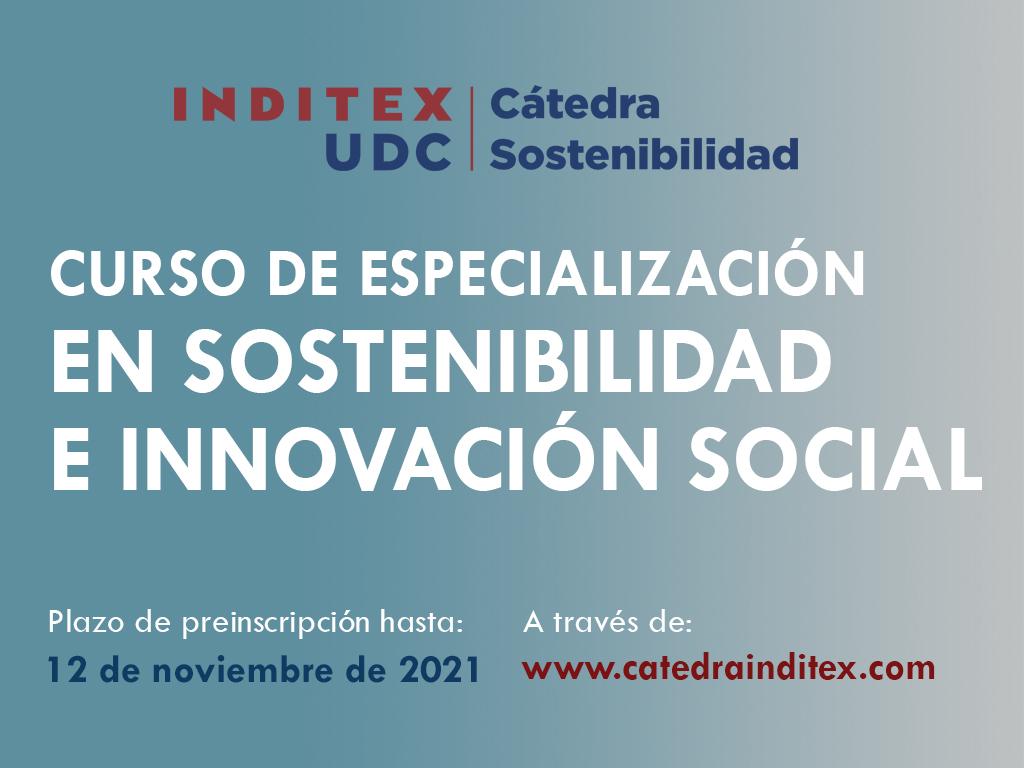 SUSTENTABILIDADE E INNOVACIÓN SOCIAL DA CÁTEDRA INDITEX-UDC